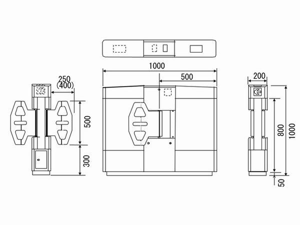 G7000シリーズフラッパーゲート機(標準構成)